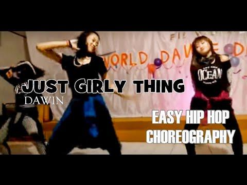 JUST GIRLY THING  DAWIN  @berlityas CHOREOGRAPHY easy hip hop choreography