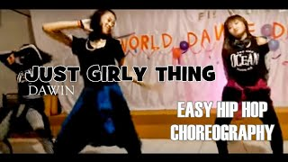 JUST GIRLY THING - DAWIN | @berlityas CHOREOGRAPHY (easy hip hop choreography)