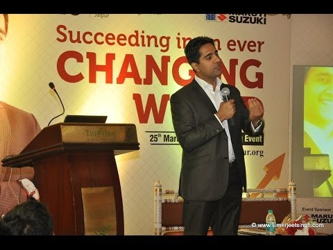 Motivational Speaker India Simerjeet Singh – Session Previews and Video Showreel (in english)