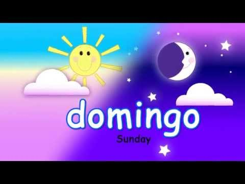 🎶 😊 Days of the Week Spanish Song 😊 Cancion Dias de la Semana Miss Rosi