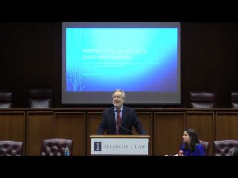 Professor Dan Gallington: Perspectives for Secrecy, Leaks, and Leakers