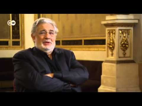 Plácido Domingo Interview in Vienna 2012