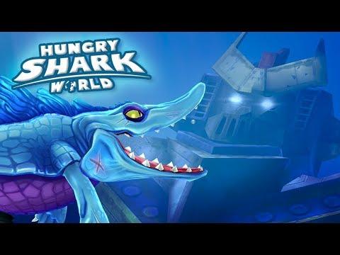 Mosasaur in the South China Sea!!! - Hungry Shark World | Ep 65 HD