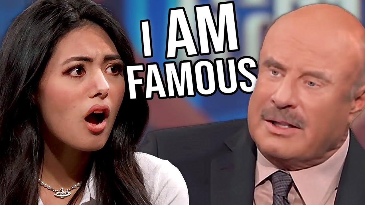 Trolling Her Way To Fame - Another Woman Uses Dr Phil For Clout