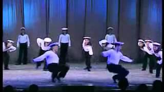 Classic russian navy dance