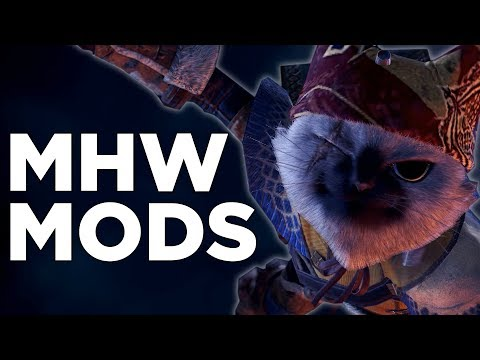 Mhw all items in shop mod | Best Mods for MHW