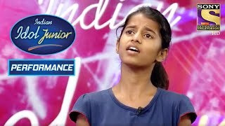 Maithili Surprises Judges With Her Classical Form | Indian Idol Junior 2
