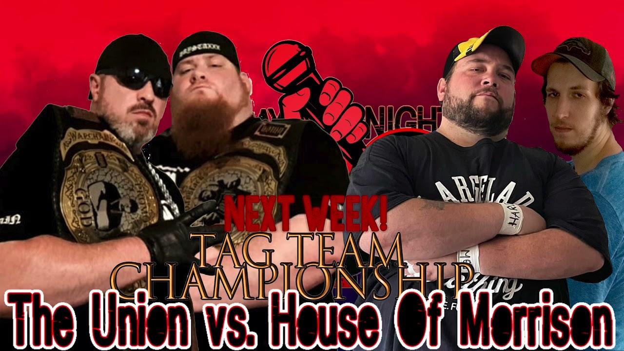 Big Tag Team Title Match Announced!6