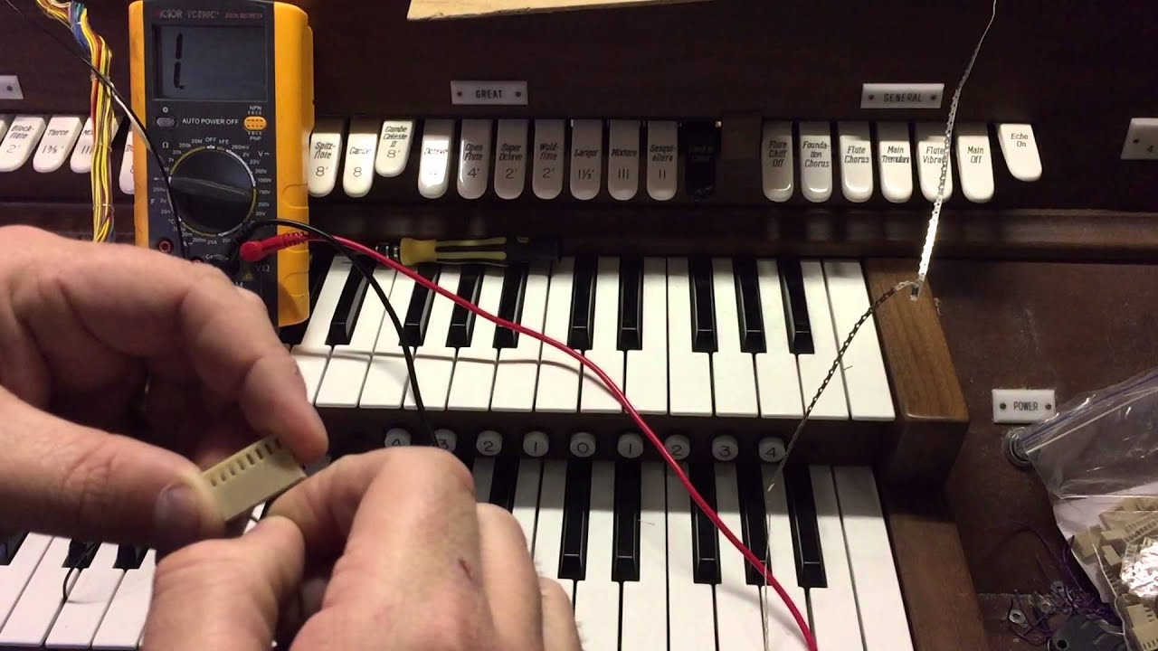 Refitting an Analogue Pipe Organ Console - Part 2