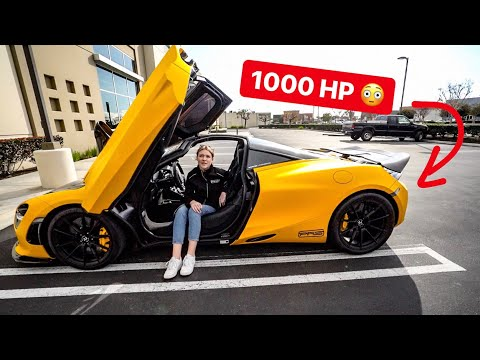 MOST POWERFUL MCLAREN 720S ON THE PLANET SCARES MY DAUGHTER! *WEISTEC 1000HP PKG*