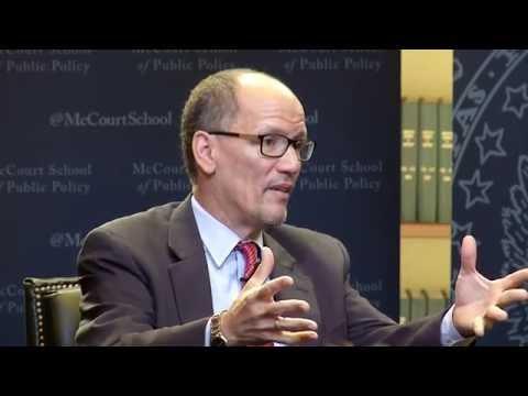 Secretary of Labor Thomas Perez on Work in the U.S.