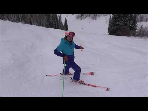 Tactics for skiing Moguls