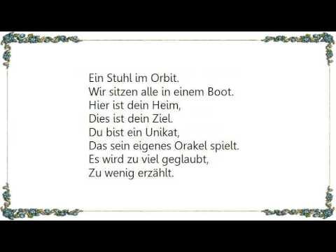 Herbert Grönemeyer Stück Vom Himmel Lyrics Youtube