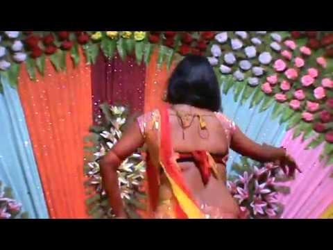 BHOJPURI ARKESTRA VIDEO GANA HD HINDI MUZRA DANCE WITH WEDDING BRIDAL SAREE VIDEO 2017
