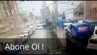 İzmir Adliyesi Önündeki Patlama Kamerada !