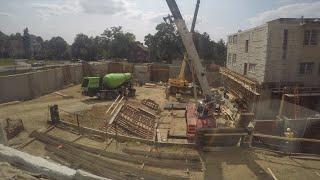 Science Building Construction Time-lapse 05   Carroll University