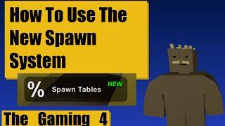 Unturned Map Editor: New Spawn Sets (Solved!)