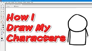 How I Draw My Characters