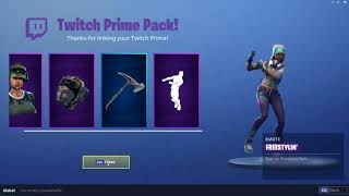 *NEW* TWITCH PRIME PACK #2 ITEM SHOWCASE - FORTNITE