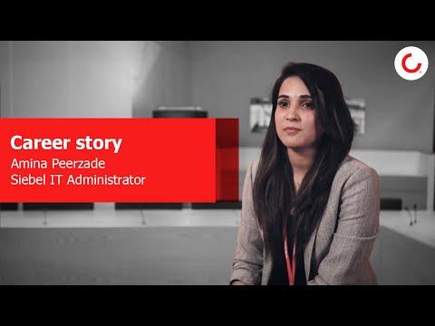 Career Story: Amina Peerzade, Siebel IT Administrator