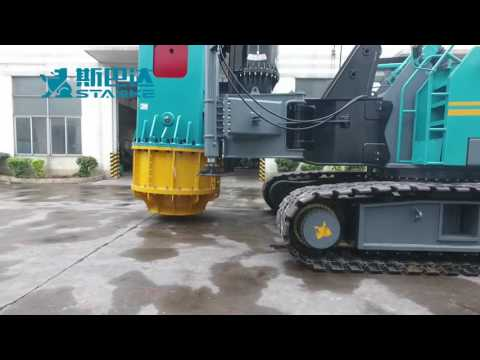 LH120P Crawler Piling Machine more thank DH608 NIPPON/SHARYO