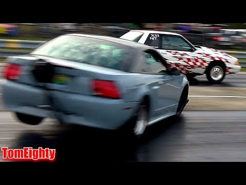 Drag Racing Crashes and Close Calls
