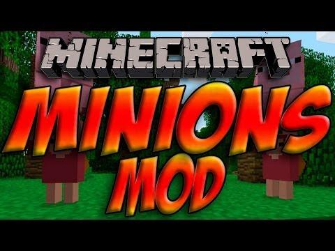 minions mod tutorial/showcase 1.6.4 forge