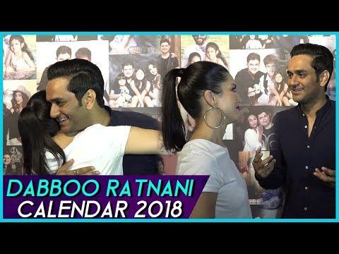 Vikas Gupta And Sunny Leone Bond At Dabboo Ratnani Calendar 2018 Launch