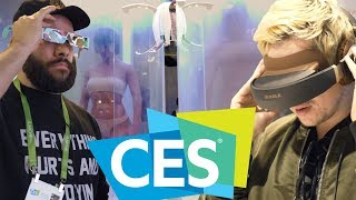 WE TRANSFERRED OUR MINDS INTO NEW BODIES • CES 2018