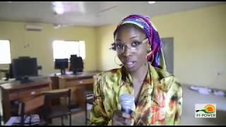 Fareedah Muhammed, an N-Power beneficiary, now an assistant to a lecturer in Kano.