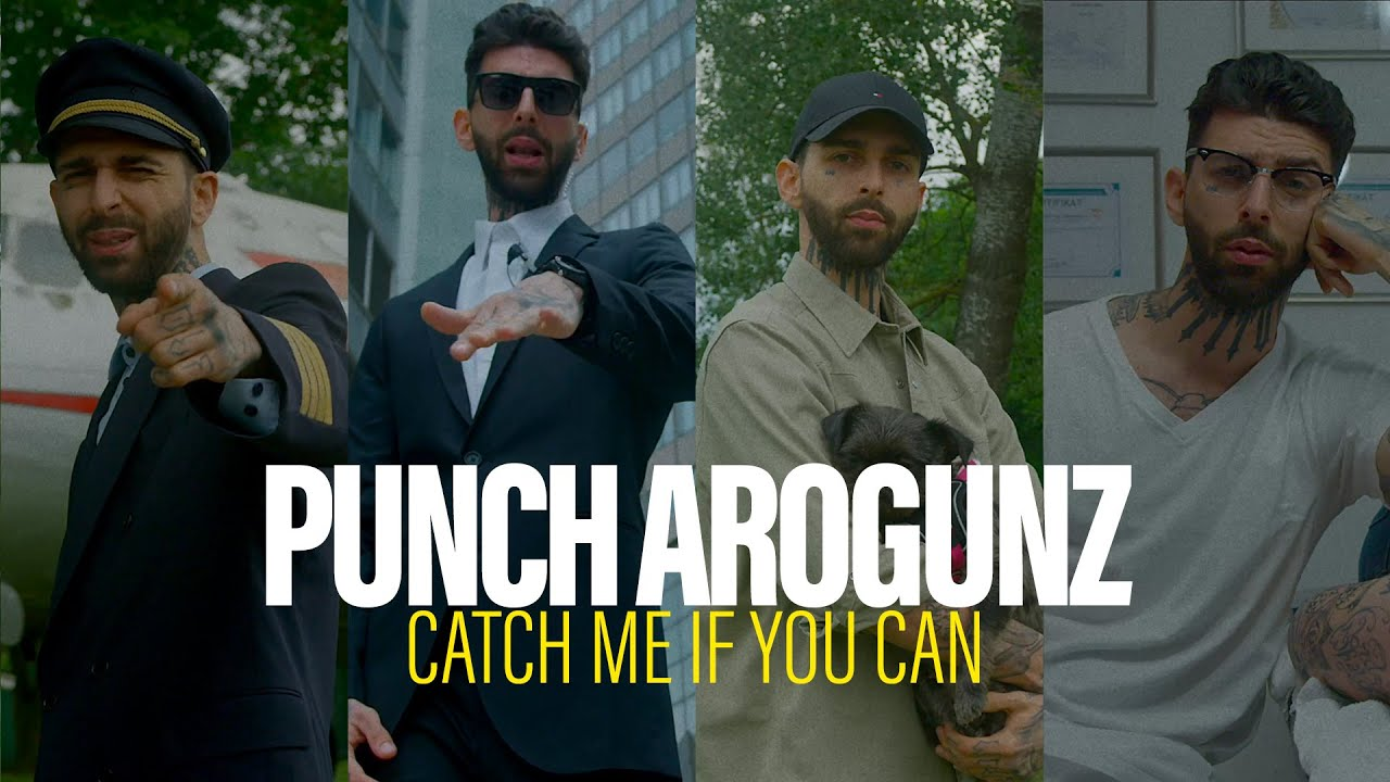 PUNCH AROGUNZ - CATCH ME IF YOU CAN (prod. by SCOOP DEVILLE & SAM4)