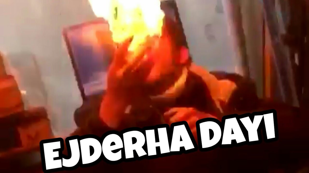 Ağzından Ejderha Gibi Ateş Püskürten Dayı Youtube