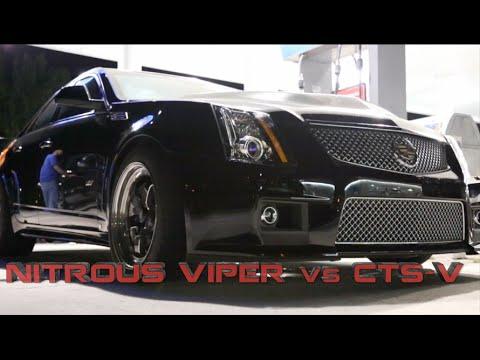 Worlds FASTEST CTS-V battles Nitrous SRT Viper