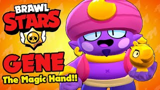 Brawl Stars - GENE The Evil Magic Hand!!