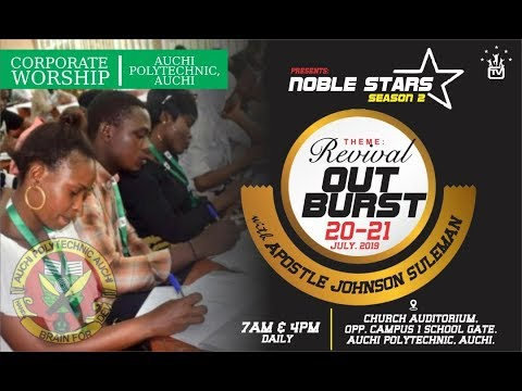 Revival Outburst With Apostle Johnson Suleman (Corporate Worship) Day 1 Evening