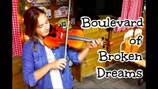 Boulevard Of Broken Dreams Violin Cover Lindsey Stirling