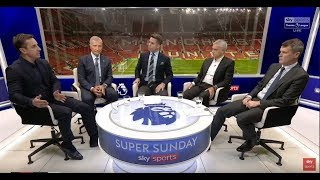 Man United 1-1 Liverpool - Post Match Analysis with Mourinho , Roy Keane ,Neville