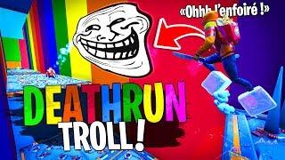 Complétement Troll sur ce Deathrun Troll avec Doc Jazy sur Fortnite Créatif