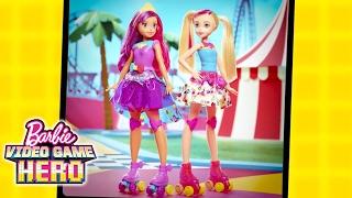 Go Behind the Scenes on A Game-Changing Photo Shoot for Barbie Video Game Hero! | Barbie