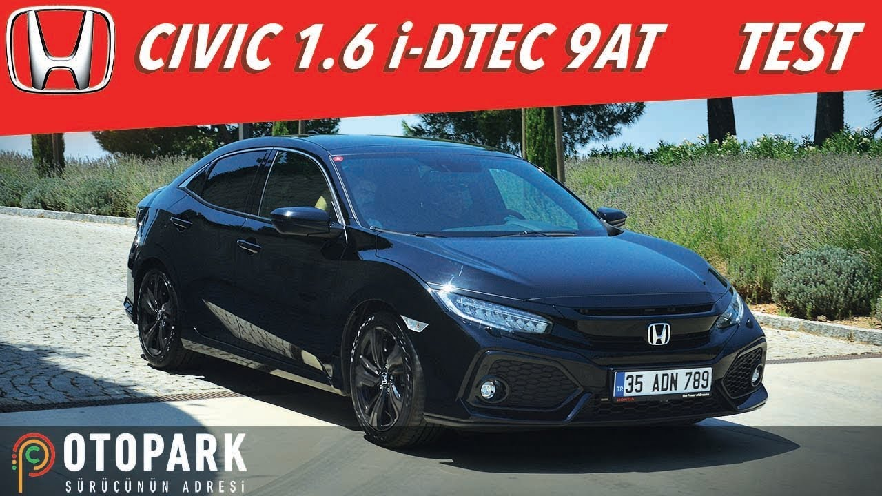 Honda Civic 16 Dizel 9 Ileri Otomatik Test Youtube