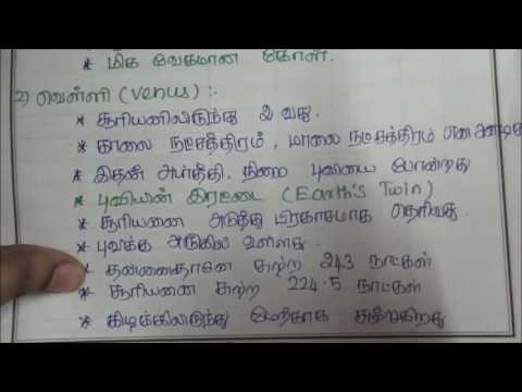 Tnpsc Geography in Tamil - 1