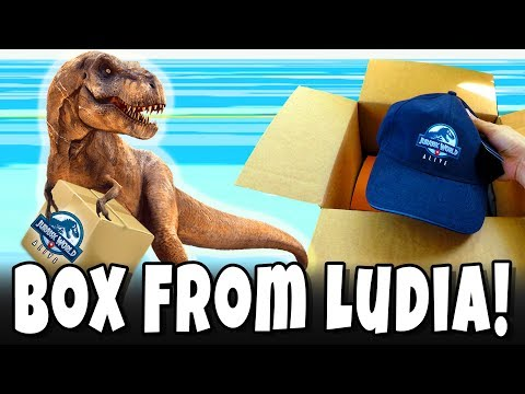 Real Life *SUPPLY DROP* from Ludia Games & Universal Studios Interactive! Jurassic World Alive Swag!