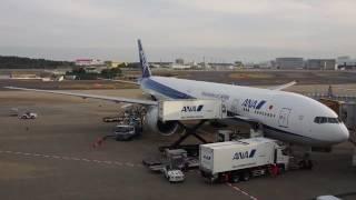 2016/11/19 All Nippon Airways 173 Announcement: Houston - Tokyo Narita