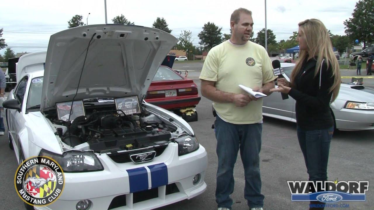 Southern Maryland Mustang Club Fall Meet at Waldorf Ford - YouTube