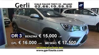 GERLI auto e moto - DR Auto, promo speciali Giugno 2019