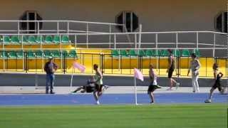 Чемпионат Казахстана, эстафета 100х200х300х400