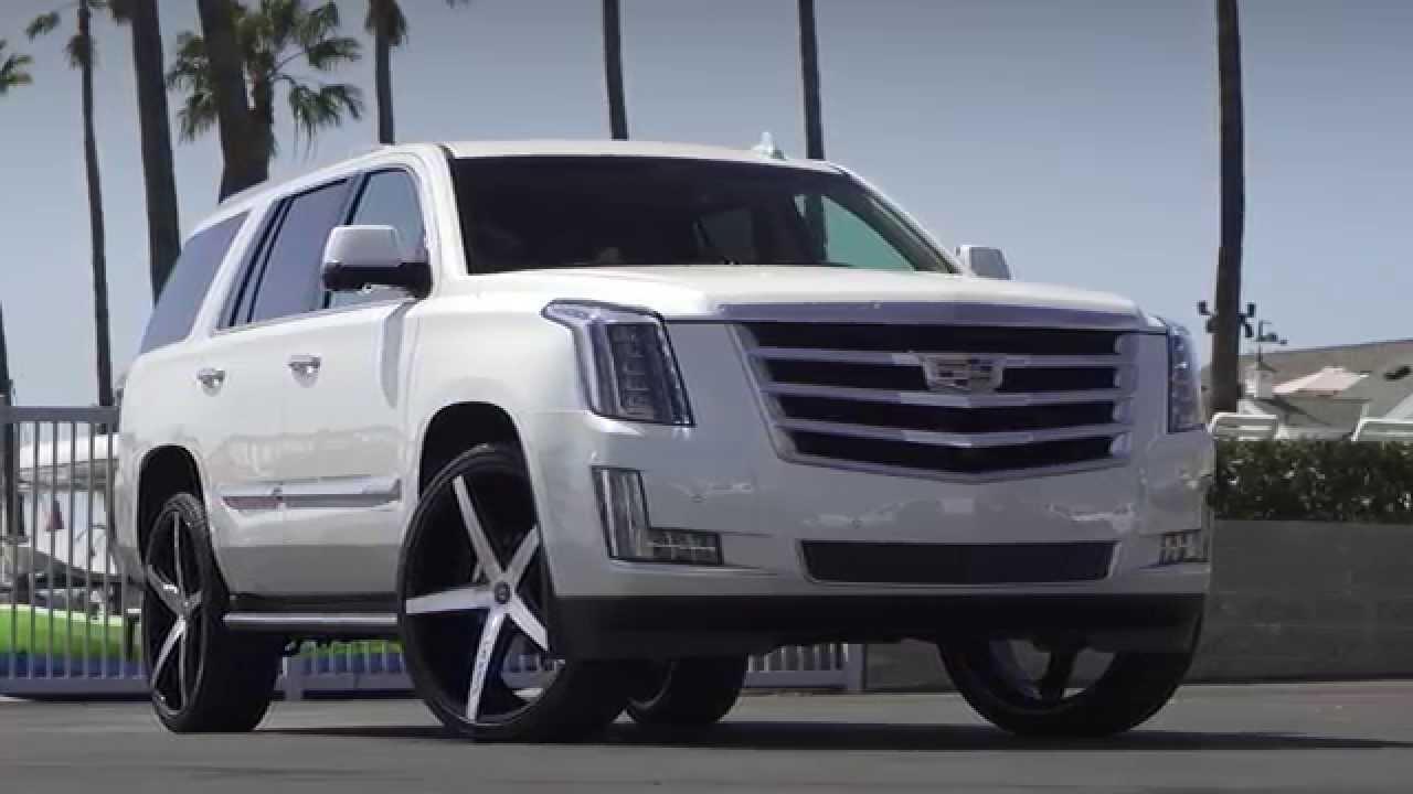 2015 Cadillac Escalade On 26 Quot R Four Lexani Wheels Youtube