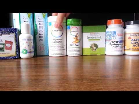 IHerb покупки. Обзор посылки: гиалуроновая кислота, витамины Rainbow Light. Февраль 2016.