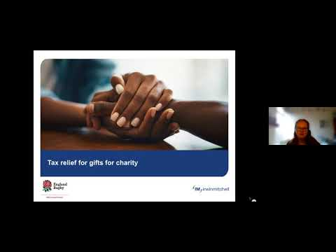 Virtual Event: Tax efficient - Giving to charity