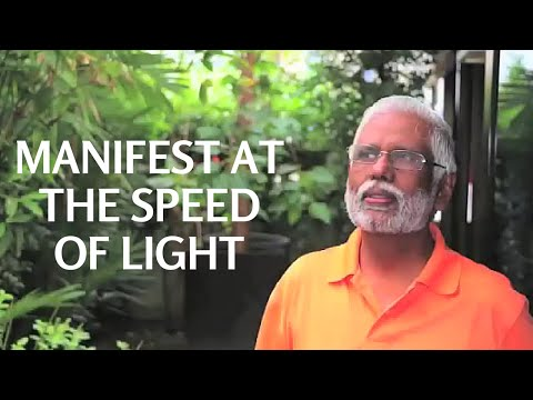 Manifest Thoughts Into Reality At The Speed Of Light